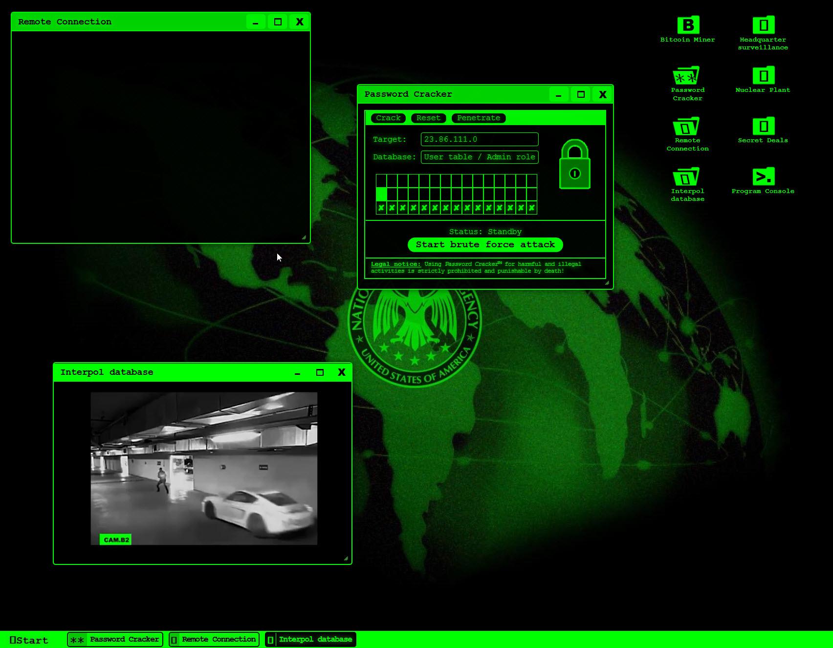 Hacker Spiele