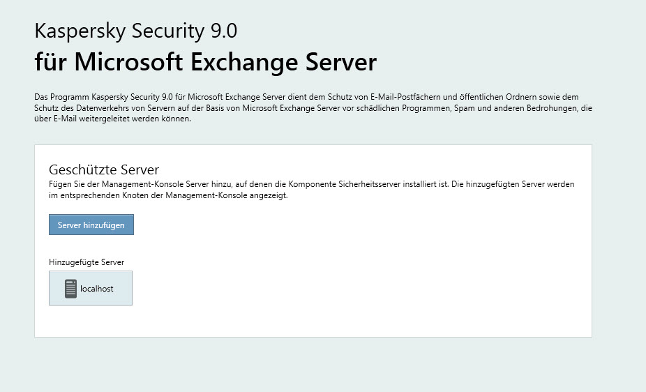 Exchange | Kaspersky Security for Microsoft Exchange Servers – Dienst KSCM8 startet nicht